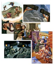 Shipwrecked: Bible Story Posters (set of 5)