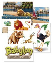Babylon: Giant Decorating Posters (set of 6)