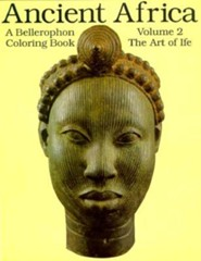 Ancient Africa, Vol. 02-Coloring Book