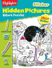 Highlights(tm) Sticker Hidden Pictures(r) Nature Puzzles  -