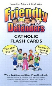 Friendly Defenders Catholic Flash Cards  -     By: Matthew J. Pinto, Katherine Andes     Illustrated By: Kinsey Caruth
