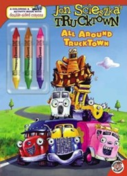 All Around Trucktown [With 3 Double-Sided Crayons]  -     By: Benjamin Harper     Illustrated By: David Shannon, David Gordon
