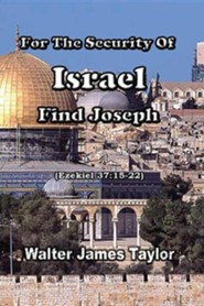 For the Security of Israel Find Joseph, Edition 0002Revised  -     By: Walter James Taylor