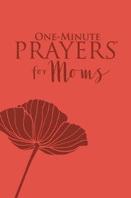 One-Minute Prayers for Moms, Milano Softone