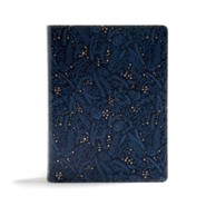 Imitation Leather Navy Book Red Letter