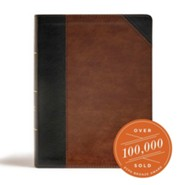 Imitation Leather Black / Brown Thumb Index