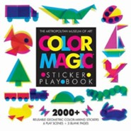 Color Magic Sticker Play Book [With 2,000 Reusable Stickers]  -     By: Metropolitan Museum of Art