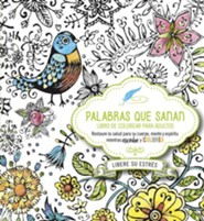 Palabras que Sanan, Libro de Colorear para Adultos  (Healing Words Adult Coloring Book)