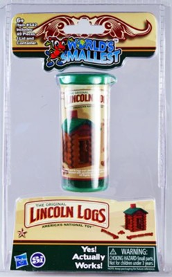 World's Smallest Lincoln Logs  -