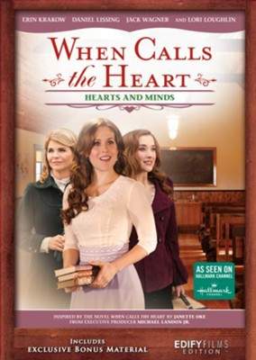 When Calls the Heart: Hearts and Minds, DVD   -