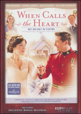 When Calls the Heart: My Heart Is Yours, DVD   -