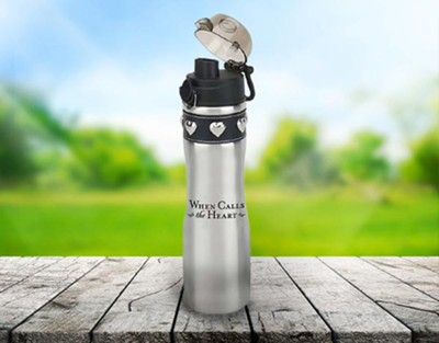 When Calls the Heart: Water Bottle (Silver)   -