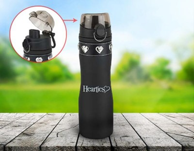 When Calls the Heart: Water Bottle (Black)   -