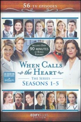 When Calls the Heart Complete Seasons 1-5, 12 DVD Collector's Edition