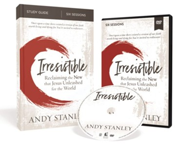 Irresistible Study Guide with DVD  -     By: Andy Stanley