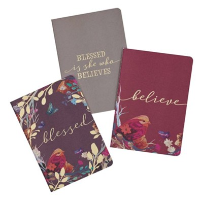 Blessed is She Notebooks, Set of 3  -