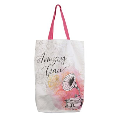 Amazing Grace Canvas Tote  -