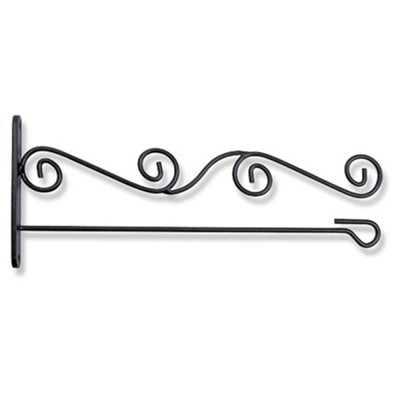 Scrollwork Wall Bracket for Garden Flags  -