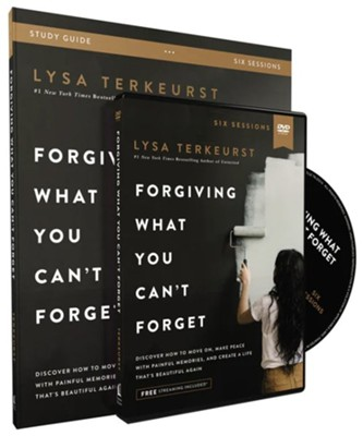 Forgiving What You Can't Forget DVD and Study Guide  -     By: Lysa TerKeurst