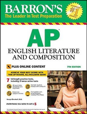 Barron's AP English Literature and Composition, 7th Edition: With Bonus Online Tests (Revised)  -