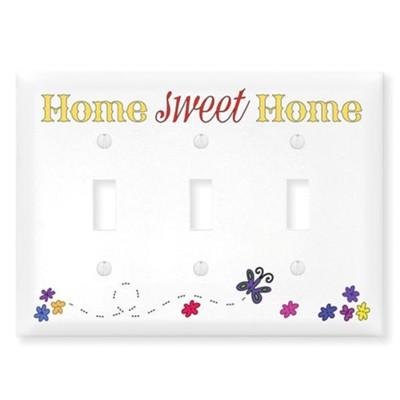Home Sweet Home, Switch Plate Cover  -