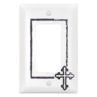Cross, Switch Plate Cover  -