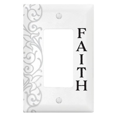Faith, Switch Plate Cover  -