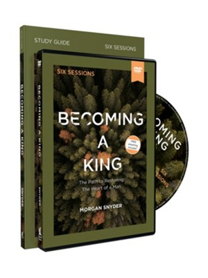 Becoming a King Study Guide with DVD  -     By: Morgan Snyder