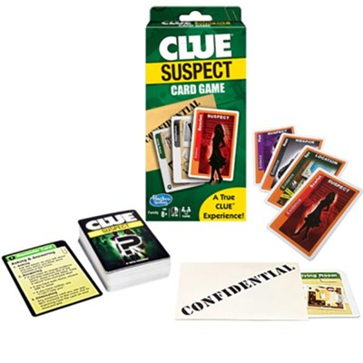 Clue Suspect Card Game  -