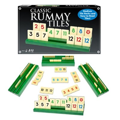 Classic Rummy Tiles  -