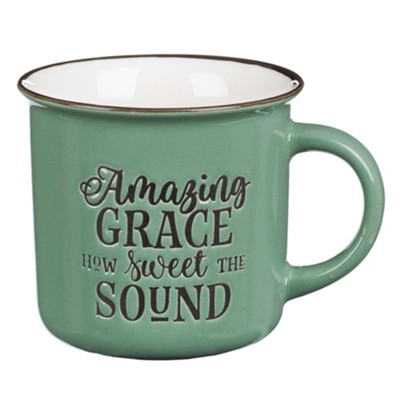 Amazing Grace Camp Mug, Mint Green    -