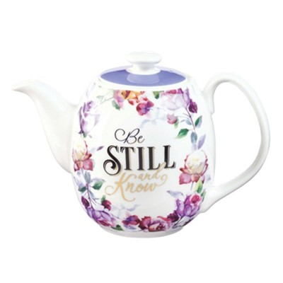 Be Still and Know Teapot  -