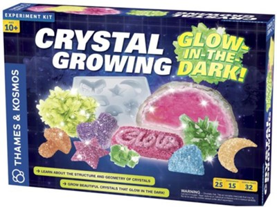 Crystal Growing: Glow-in-the-Dark  -