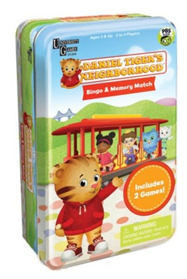 Daniel Tiger's Neighborhood Tin  -