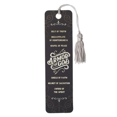 Armor of God Bookmark with Tassel  -