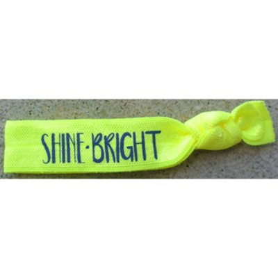 Shine Bright Hair Tie Bracelet, Green  -