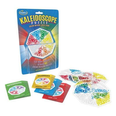 Kaleidoscope Puzzle, Color Mixing, Logic  -