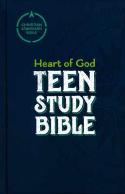 CSB Heart of God Teen Study Bible, Hardcover  -     By: Mark L. Strauss