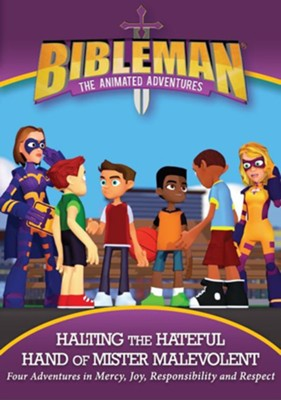 Bibleman: Halting the Hateful Hand of Mister Malevont, DVD  -
