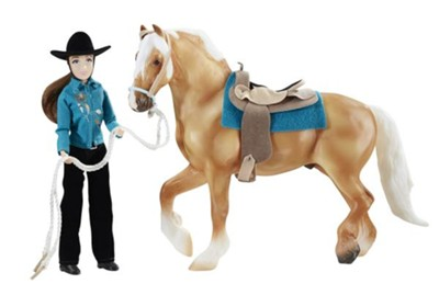 Let's Go Riding, Western Playset  -