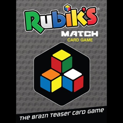 Rubik's Match Card Game in Tin  -