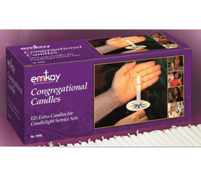 Extra Congregation Candles 125       -