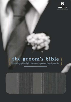 The NCV Groom's Bible--imitation leather, black   -