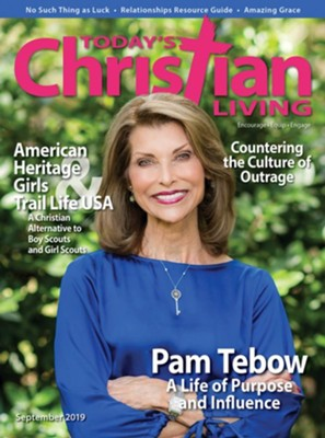 Today's Christian Living Magazine, 1 Year International  Subscription  -