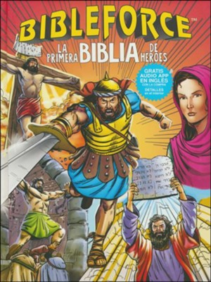Bibleforce: Los primeros heroes de la Biblia (The First Heroes Bible)  -