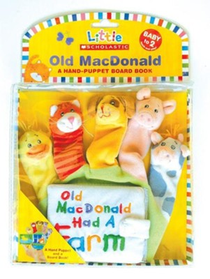 Old Macdonald Puppet  -     By: Scholastic & Michelle Berg(Illustrator)     Illustrated By: Michelle Berg