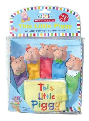 This Little Piggy Puppet  -     By: Scholastic & Michelle Berg(Illustrator)     Illustrated By: Michelle Berg