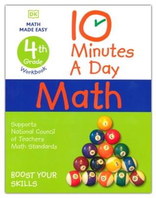 10 Minutes a Day Math Grade 4  -     By: Carol Vorderman