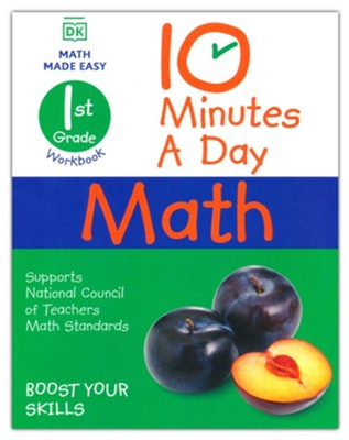 10 Minutes a Day Math Grade 1  -     By: Carol Vorderman