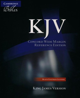 KJV Heritage Edition Bible and Prayer Book--calf split leather, black  -